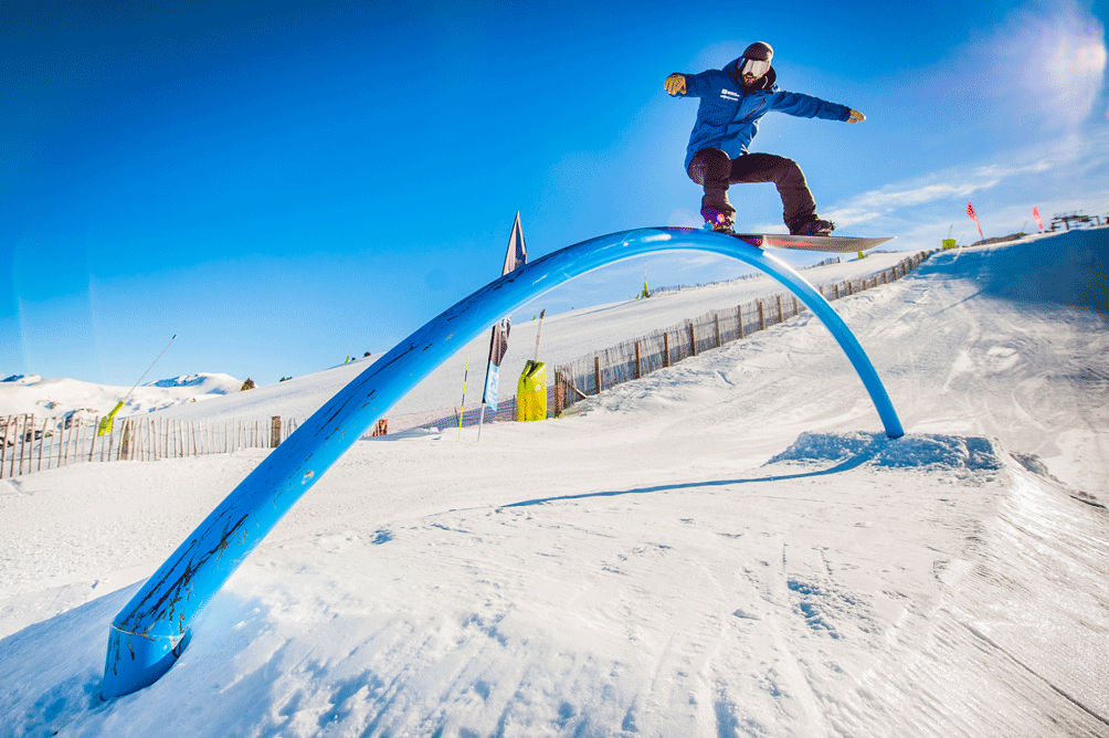 mejores lugares para practicar snowboard