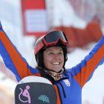 Astrid Fina, historia del snowboard paralímpico español