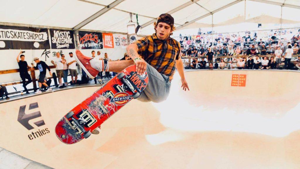 El skater Jaime Mateu se marca como objetivo Tokio 2020