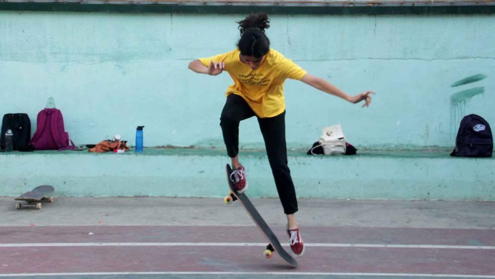 La historia de las chicas palestinas skaters de Ramala
